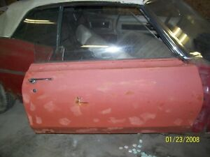 1969 Pontiac Bonneville Convertible Passenger Door With Power Window