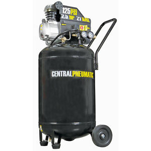 Vertical Air Compressor Portable Cast Iron Power Motor Heavy Duty Workshop Fast