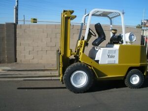 Yale 8000 Lb Propane Forklift 60 Forks Runs And Works Great