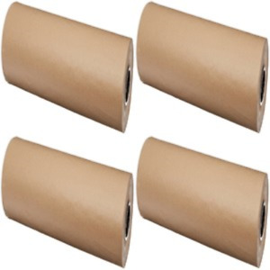 24 Inch Brown Kraft Paper Roll Wrapping Sheets 1200 Ft Packing Shipping Mailing