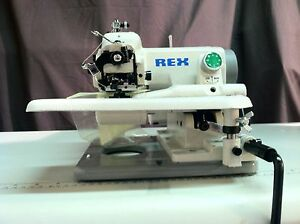Rex Rx 518 Industrial Portable Blindstitch Sewing Machine