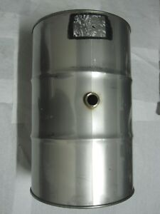 Toho 55 Gallon Stainless Steel Drums Stainless Steel Barrels 1a1 x 1 5 300 13