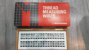 Mitutoyo 313 102 Thread Measuring Wires New