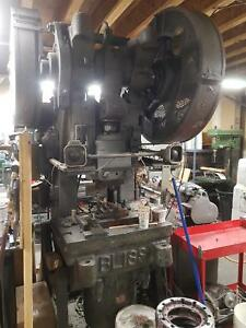 Bliss 50 Ton Stamping Press With Air Stop Brake