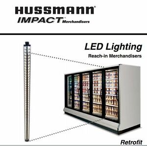 Hussmann Ecoshine Ii Wide Angle 67 Inch Led Display Case Lighting Module 8 Pcs
