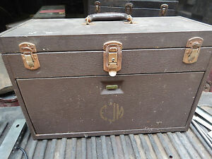 Vintage Kennedy 520 Toolbox Machinist Tool Box Chest Storage