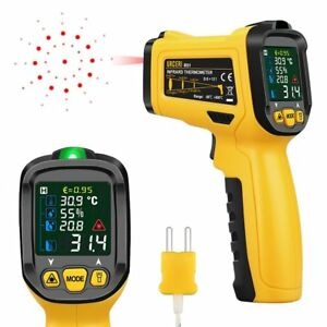 Urceri Infrared Thermometer Digital Ir Laser Non Contact Temperature Gun 58