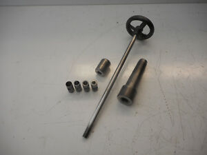 Atlas Craftsman 10 12 Metal Lathe Milling Draw Bar And End Mill Bushings