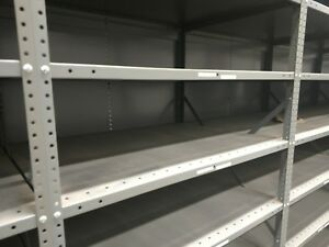 Industrial Metal Shelving Warehouse Racks 41 Wide 30 Deep 14 Tall