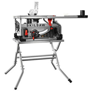 Skil Spt70wt 22 10 Worm Drive Table Saw W Diablo Blade And Stand New