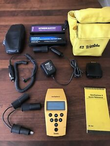 Trimble Geoexplorer Ii Handheld Gps Unit W cases Manuals Battery Packs Complete