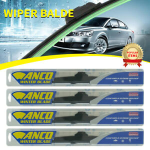 4 Pcs Anco Winter Wiper Blade For Audi fox front rear 16 Length 30 16 30 16