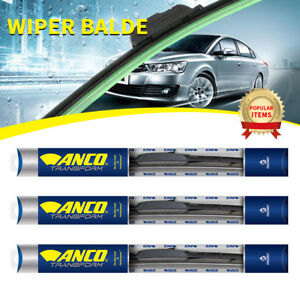 3 Pcs Anco Transform Wiper Blade For Fox front rear 16 Length t 16 ub t 16 ub