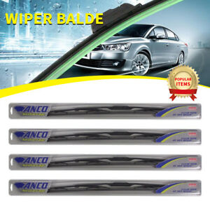 4 Pcs Anco Aerovantage Wiper Blade For Fox front rear 16 Length 91 16 91 16