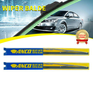 2 Pcs Anco Clear flex Wiper Blade For Ford p 350 front Pair 16 Length 55 16