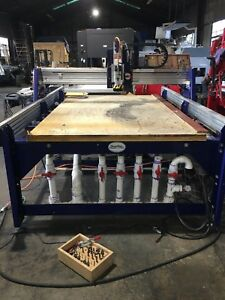 Shop Bot Prs 96 60 6 3 Axis Cnc Router With Vacuum Table System