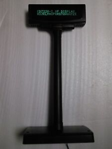 Pos Customer Pole Display Black Point Of Sale
