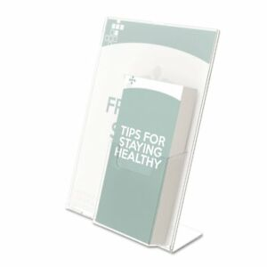 Deflecto Superior Image Sign Holder Clear