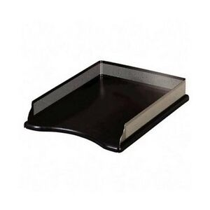 Rolodex E22615 Distinctions Self stacking Desk Tray Black