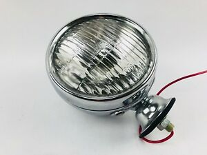 Round Clear Fog Light Vintage Single Antique
