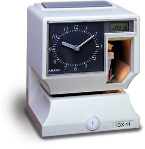 Amano Electronic Time Clock recorder