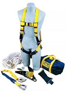 Dbi Sala 2104168 Complete Roof Anchor Fall Protection Kit