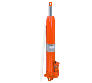 8 Ton Heavy Duty Long Ram Hydraulic Round Bottom Jack Cranes Truck Hoist Lift