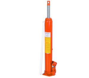 3 Ton Heavy Duty Long Ram Hydraulic Flat Bottom Jack Lift Crane Hoist Truck Auto