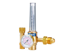 Co2 Argon Helium Flow Meter Regulator Mig Tig Welding Job Brass Multiple Gas