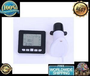 0 5m To 5m Wireless Ultrasonic Water Tank Level Meter With Temperature Sensor