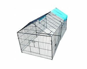 Chicken Crate Chicken Pens Rabbit Enclosure Pet Playpen W Closure 86 L X 40 W