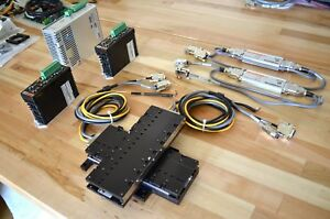 Parker Mx80l Linear Servo Motor Actuator Xy Stage Vix 250ah Drive Mach3 Tested