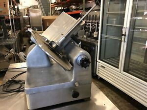 Hobart 1712 Automatic Slicer Commercial Deli 115 Volts Single Phase Used