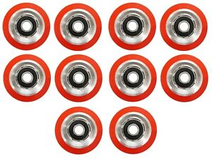 10 X Superior Quality Orange Drum Roller Bearing For Huebsch sq ipso 70568201