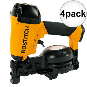 Bostitch Rn46 1 3 4 To 1 3 4 15 Deg Coil Roofing Nailer 4x New