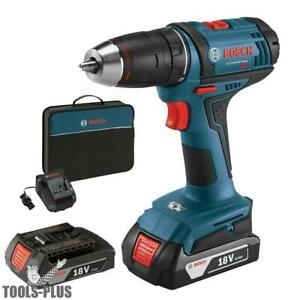 Bosch Tools Ddb181 02 rt 18v Li ion 1 2 Compact Tough 2 battery Drill drive