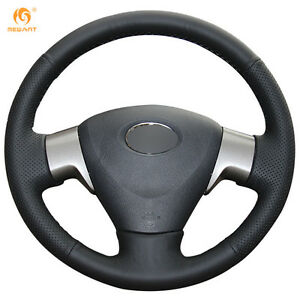 Leather Steering Wheel Cover For Toyota Matrix Auris 07 09 Corolla 06 10 Ft11