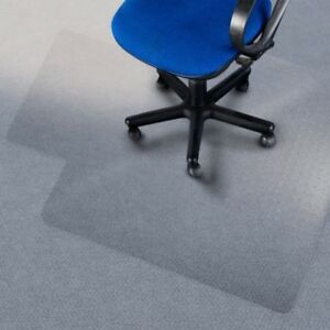 Desk Chair Mat Clear Floor Grip Hard Lip Office Protection Protector Transparent