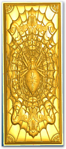 Cast Poured Gold & Silver Bars with our Push Ingot Mold Pattern #165 Delft Clay!
