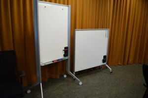 Haworth Planes Mobile Whiteboards Collaborative Conference Training Room