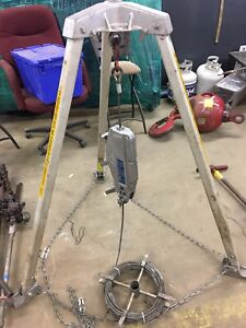 Habegger Hit 10 Confined Space Tripod Hoist 960092
