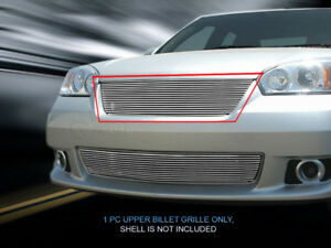Polished Billet Grille Front Upper Grill For 2006 2007 Chevy Malibu