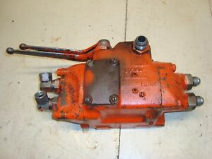 1966 Case 930 Diesel Tractor Hydraulic Valve Assembly