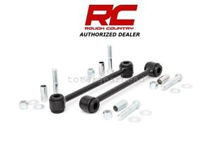 2007 2018 Jeep Jk Wrangler 2 5 4 Rough Country Rear Sway Bar Links 1134