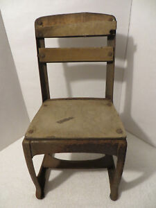 Vintage Childrens School Chair American Seating Company Display Or Restoration