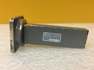 Waveline 654 wr 90 8 20 To 12 4 Ghz 3 75 Length Waveguide Termination