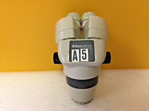 Nikon Smz 2b 0 8 To 50x 0 8 To 4 0x Zoom Stereoscopic Microscope Tested