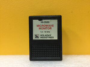 Holaday Industries Hi 3520 1 To 18 Ghz 0 01 To 30 Mw Cm Microwave Monitor