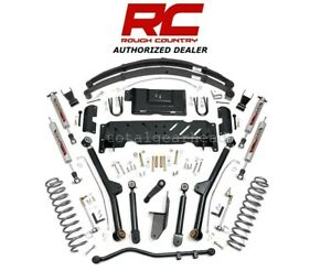 1984 01 Jeep Xj Cherokee 4wd 6 5 Rough Country Long Arm Lift Kit Np242 61822