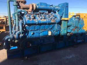 Waukesha L36gld 880hp Natural Gas Industrial Engine